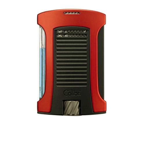 Зажигалка Colibri Daytona, красно-черная (шт.)