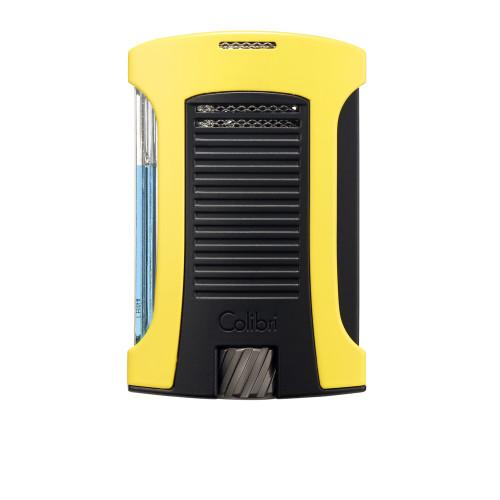 Зажигалка Colibri Daytona, желто-черная (шт.)