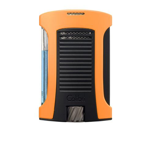 Зажигалка Colibri Daytona, оранжево-черная (шт.)