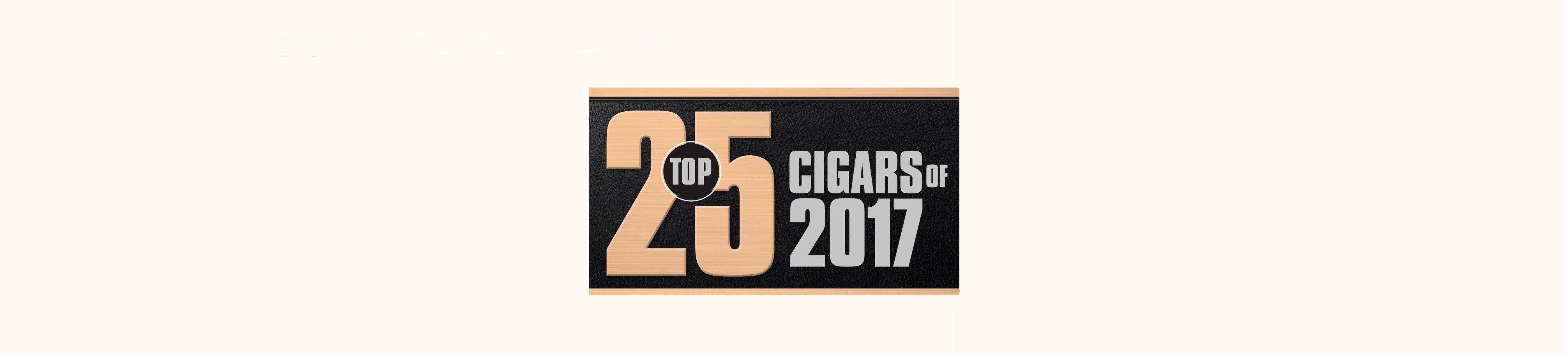 Top 25 Cigars 2017